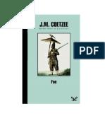 Coetzee J M - Foe