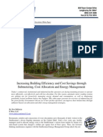 increase efficiency and cost savings through submetering allocation and energy management
