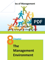 Principles of Management Ch 8