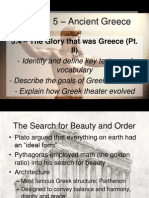 5 4 - the glory that was greece pt  ii