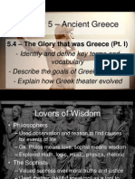 5 4 - the glory that was greece pt  i
