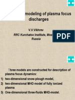 Computer Modeling of Plasma Focus Discharges