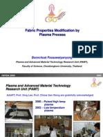 Fabric Properties Modification by Plasma Process