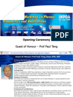 Opening IWPDA2009