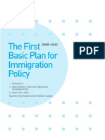 2008-2012 ROK First Immigration Plan