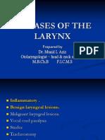 1. Diseases of the Larynx