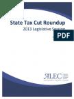 2013 State Tax Cut Roundup