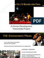 Transmedia Bible   (TV / Webisodes) - Squeezing the Brain Pitching (Drugs Prevention Project)