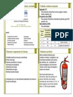 Aula 05 - Instalações de Prevenção e Combate a Incêndio