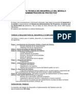 Propuesta de Desarrollo de Sistema - Adm. de Proyectos V1.3