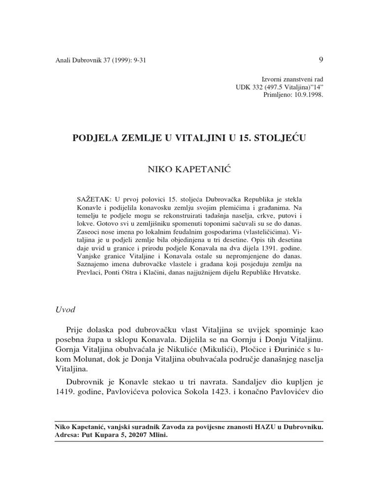 Sporazum o razdvajanju nc datiranje