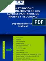 constitución y funcionamiento del CPHS