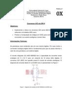 PRÁTICA TAED 0X - ADC SPI-4