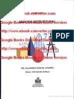 78918759 Apuntes de Analisis Estructural Escrito Por Alejandro Leon de La Barra