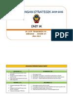 Perancangan Strategik Unit 3k2014-2016