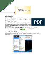 Manual de MS Word 2007