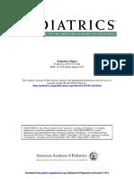 Pediatrics 2013 Pediatrics Digest Summary D1 6