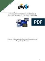 Projeto Pedagógico do Curso de Graduação em Engenharia Elétrica
