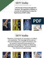 skyy vodka power pointamanda  judy1