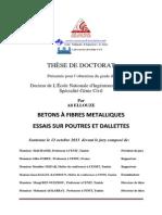 Thèse-Béton de Fibre Métallique- Ellouze-2013