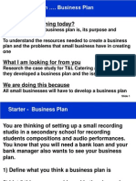 Unit 39 P4 - Studio Business Plan - Resource for Students