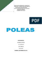 POLEA INFORME
