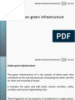 Urban green infrastructure