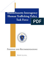 MA Interagency HT Policy Task Force Findings