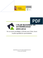 Plan Nacional de Accesibilidad 2004-2012