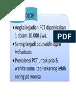 Epidemiologi PCT