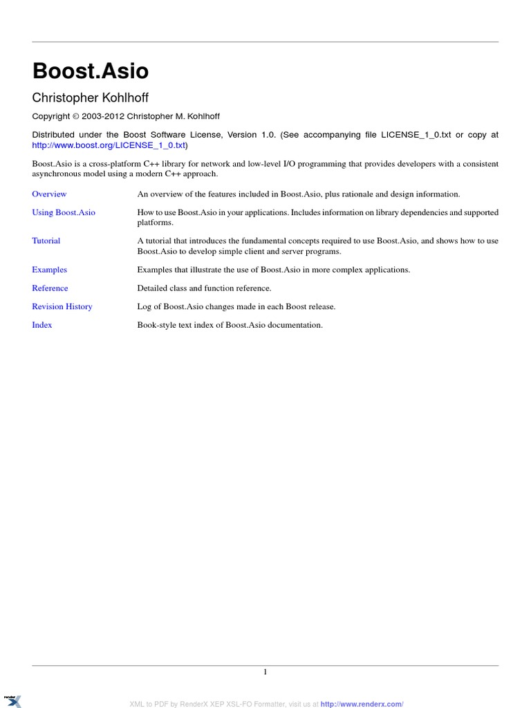 asio   Network Socket   Thread (Computing)