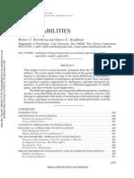 Sternberg & Kaufman 1998 AnnuRevPsych - Human Abilities