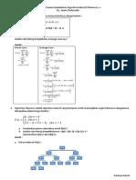 My Draft ; Uraian Kompleksitas Algoritma Rekursif (Fibonacci) ++