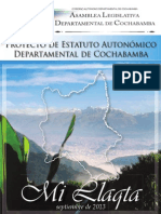 Proyecto de Estatuto Cochabamba