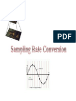 Sampling Rate Conversion Notes