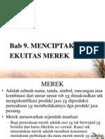 (Slide) Menciptakan Ekuitas Merek
