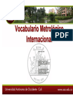 Vocabulario Metrologico Internacional