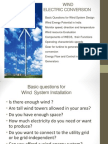 Learn Wind electric conversion system