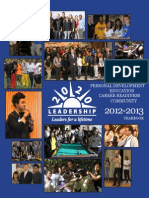 20/20 Leadership's 2012-2013 Yearbook