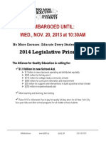 11.20.2013 AQE 2014 Legislative Priorites Embargoed
