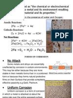 Chapter 1 Basics of Corrosion