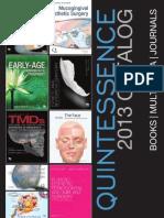Quintessence 2013 Catalog
