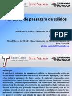 INDICADOR DE PASSAGEM DE SÓLIDOS