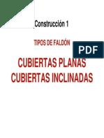 práctica de FALDONES CUBIERTAS