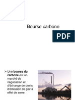 Presentation Bourse Carbone