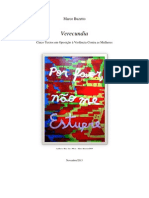 Verecundia - Cinco Textos em Oposição à Violência Contra as Mulheres - Marco Buzetto