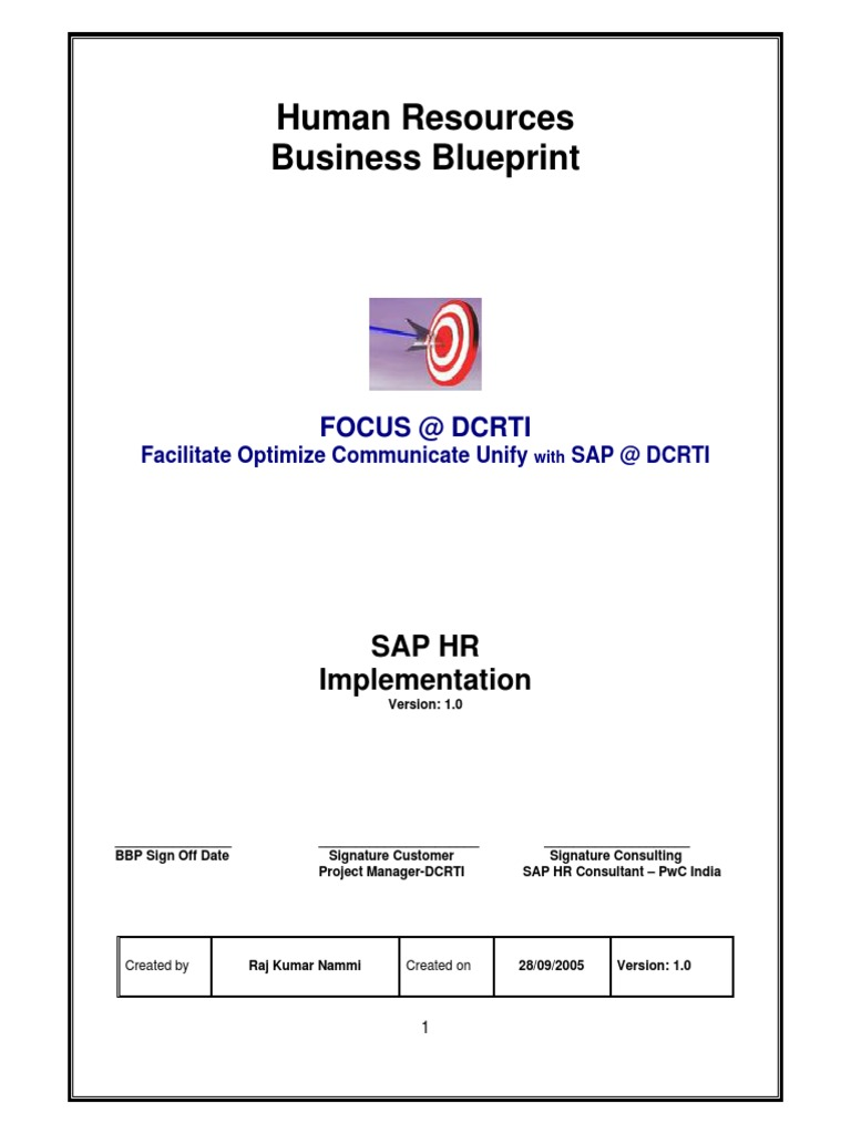 Sap hr business blue print product lifecycle payroll malvernweather Choice Image