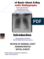 IVMS-Review of Basic Chest X-Ray and Diagnostic Radiographs