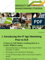 Ethiopian Commodity Exchange A Market transforming Ethiopia