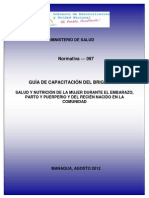 1.3 Guia Capacitacion Brigadista Materno Agosto 2012